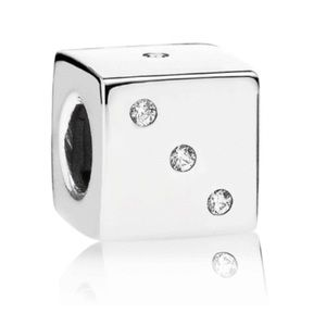 Exclusive Pandora lucky dice charm
